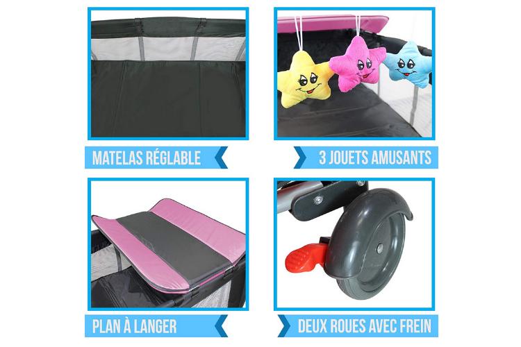 Avantages du lit parapluie Monsieur bébé