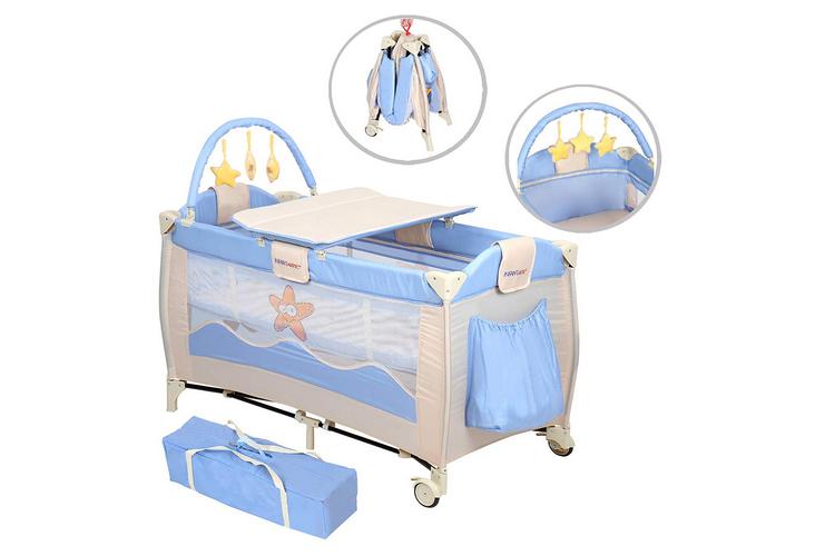 Avis et Test complet du lit bébé Happy starfish, un lit parapluie Infantastic
