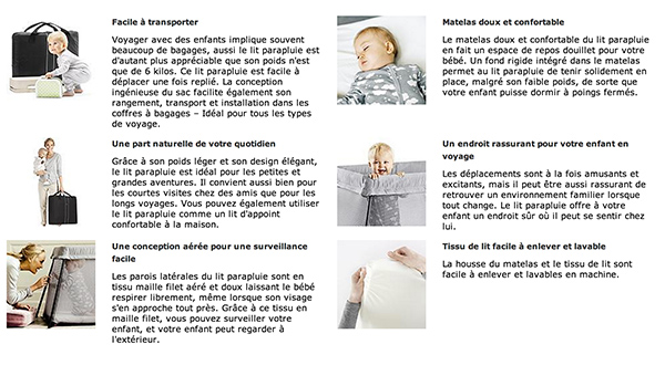 que vaut vraiment le le lit parapluie light de babybjorn. Black Bedroom Furniture Sets. Home Design Ideas